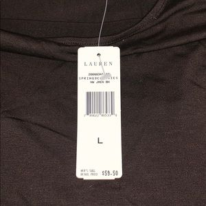 Ralph Lauren Tops - Ralph Lauren brown shirt